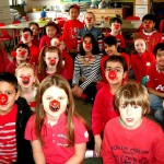 News item - Having fun on Red Nose Day