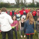 News item - Being gunged for Comic Relief