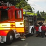 News item - Fire Engine visits Lower School