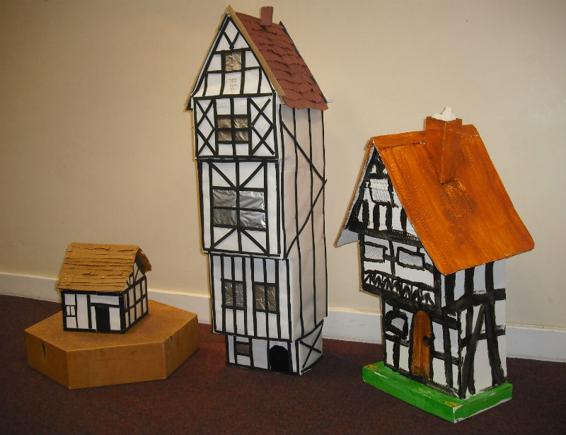 News Item Tudor Houses Competition In Middle School