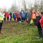 News item - Middle School visit Farm
