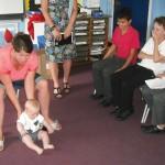 News item - Baby visits Upper School sex ed sessions