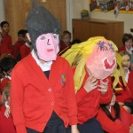 News item - Scary creatures in school!