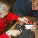 Soldering at codeclub