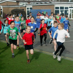 News item - School Houses compete in cross country running
