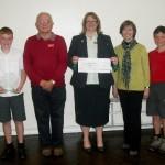 School receives Defibrillator