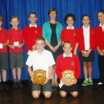 Children receive End of Year Awards