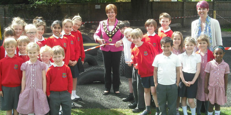 Working with the wider community - opening the Tyre Park