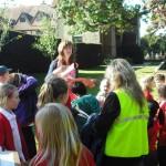 Photonews - Middle School visit Ufton Court