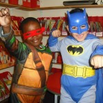 Photonews - Superheroes and Princesses in school