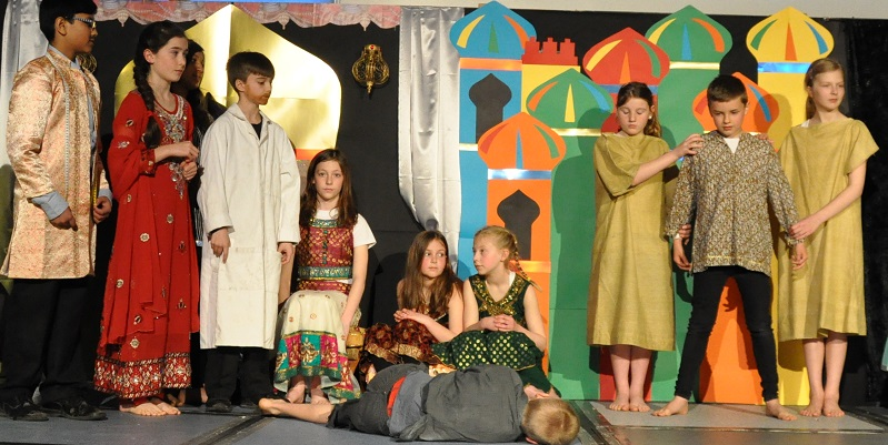 Putting on a show - the school production
