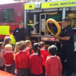 Photonews: Fire Fighters visit Foundation