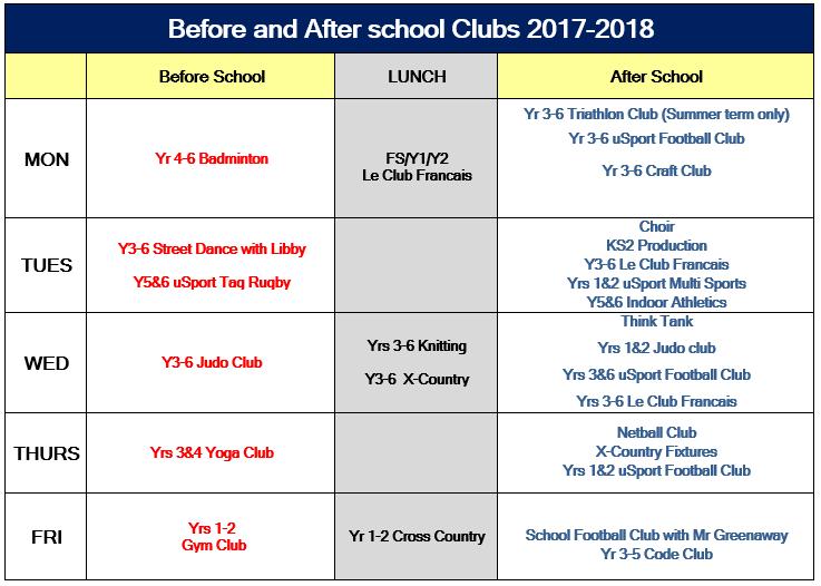 20171219 School Clubs