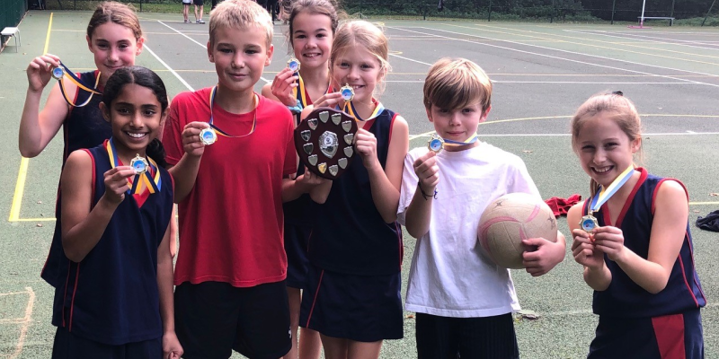 Aldryngton Team A Winners Netball Tournament At Reddam House