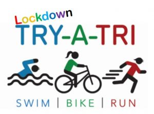 Lockdown Try A Tri Logo